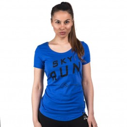 Дамска Тениска FLAIR Sky Run Label T-Shirt